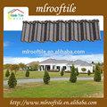 핫 디자인과 좋은 품질의 돌 코팅 강철 금속 타일 지붕 클래식 nosen 금속 지붕