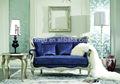 Sofá da sala de estar sofá em madeira maciça set/italiano estilo de conjunto de sofá de móveis para sala gd-a8026