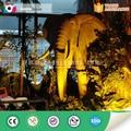 lifesize parque temático robótica elefante animal modelo