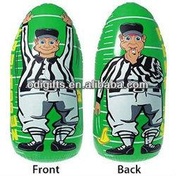 Inflatable Punch Bag Referee bop bag toys