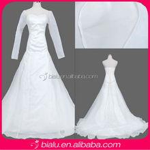 Long Sleeve Wedding Gown