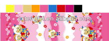 lovely sheep 100 poly printing fabric for children bed sheet