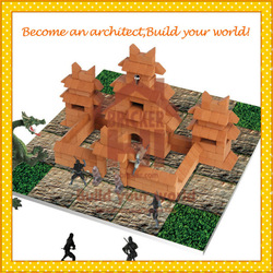 High Intellectual Educational Toys DIY Block Brick Toys 3D Puzzle for Kids