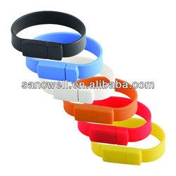 Silicone Bracelet USB Flash Drive 1GB - 64GB Custom Made