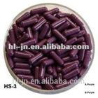 Halal medicine purple capsule shaped pill box, empty gelatin capsule