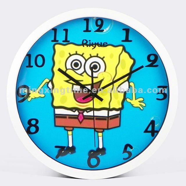 Im genes de dibujos animados de temas relojes de pared - Reloj de pared diseno ...