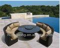 Milano sezionale divano insieme esterno/giardino set