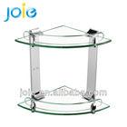 Toilet Corner Glass Shelf.