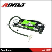 2013 ANMA new design car accessories foot pump car tire foot pump