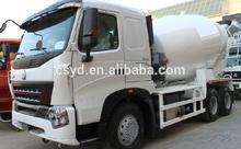 new style sinutruk howo 6x4 6m3 concrete mixer truck euro 2