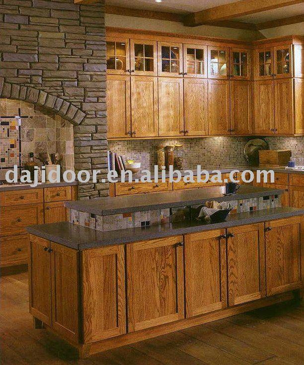 Europ enne design classique en bois massif meubles de cuisine dj k013 meubles de cuisine id du Cuisine classique en bois massif