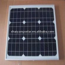 low price high quality 25W monocrystalline/pv solar module