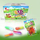 Halal Fruit Gummy Worm Soft Candy
