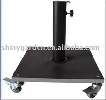 Base de paraguas cuadrados con sg-ubs016 de la rueda