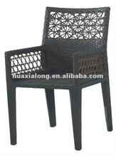 New Miami outdoor Wicke/rattanr Furniture/ cafe bistro chair/Foshan furniture