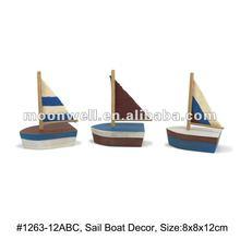 Gỗ thuyền buồm mô hình, cổ thuyền mô hình nghề, đồ chơi, hàng hải, món quà, hài hước trí, trí, đồ lưu, lý trí