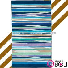 stripe beach towels/cheap beach towel fabric wholesale