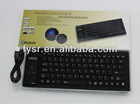 bluetooth wireless silicone keyboard mini flexible keyboard bluetooth keyboard 84 keys