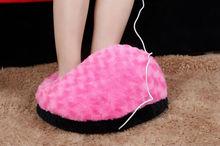 Usb pantofole riscaldate, usb piede wamer, pantofole riscaldate elettricamente
