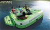 towable & inflatable tube seat island surfing boatTITAN towable inflatable water ski longue