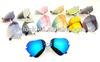 Womens Cute Rimless frame Heart Shaped Sunglasses