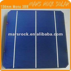 4.25W - 4.3W 156mm Monocrystalline Silicon Solar Cell ( 3 Bus Bar)