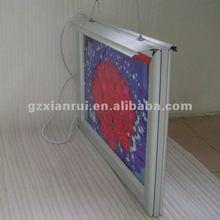 Aluminium snap frame Edge Lit LED Sign