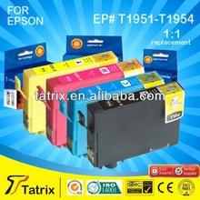 T1951 T1952 T1953 T1954 InkJet Cartridge for Epson T1951 - T1954 InkJet Printer Cartridge ,for Epson XP-101 XP-201 XP-211