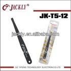 JK-T5-12,flat tip tweezer,tweezer set,CE Certification