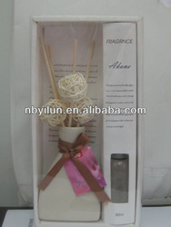 Aromatic reed diffuser home air freshener