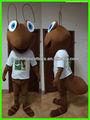 personalizado 2014 adultos traje de hormiga