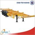 China 3 eixo 40 T caminhão eo reboque dimensões