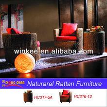 round rattan furniture