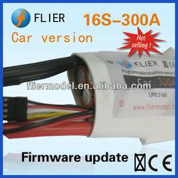 fliermodel company high quality 12S and 300A RC car ESC