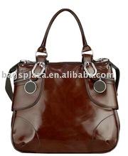 2015 custom wholesale cow leather bag real leather handbag fashion genuine leather handbag MD4088