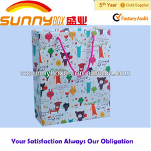 Promotional recycle shopping paper bag