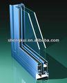 Alumínio janela deslizante janela janela do quadro perfis de alumínio