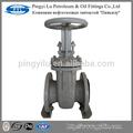 rusia estándar de acero fundido pn16 válvula de compuerta dn100 husillo ascendente