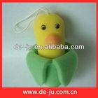 bath shower sponge toys sweety yellow cartoon baby bath flower
