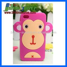 High quality big mouth monkey custom silicone phone case