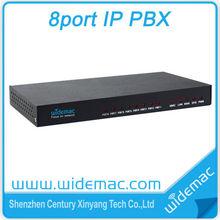 8port Asterisk VOIP Gateway IP PBX