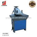 braço oscilante hidráulico pressador couro máquina de perfuração