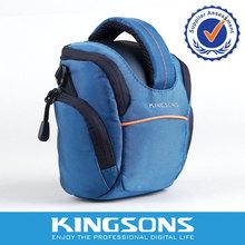 Waterproof dslr leather nylon camera bag