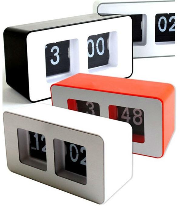 Stylish Creative Cube Automatical Flip clock CT-259