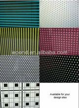 silkscreen printing table printed glass