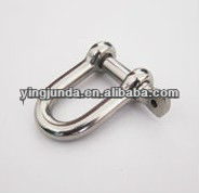 stainless steel shackle marine use stainless steel d shackle