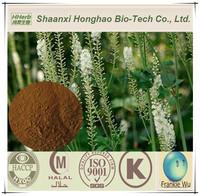 Natural Bulk 2.5%-8% Triterpene Glycosides Black Cohosh Root Powder