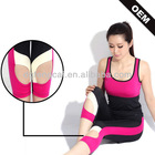 88%polyester 12% spandex athletic apparel for ladies