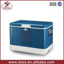 54L Multifunction beer retro metal cool chest steel cooler