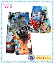 Man's Beach sublimation cool boardshort wholesale shorts